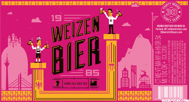 Weizenbier -Label-COLA