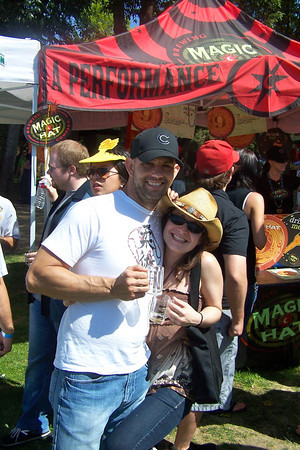 Frank & Jackie - Orange County Beer Festival