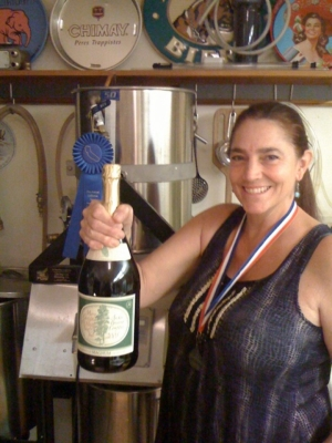 Nancy Gold - President Maltose Falcons Homebrewing Society