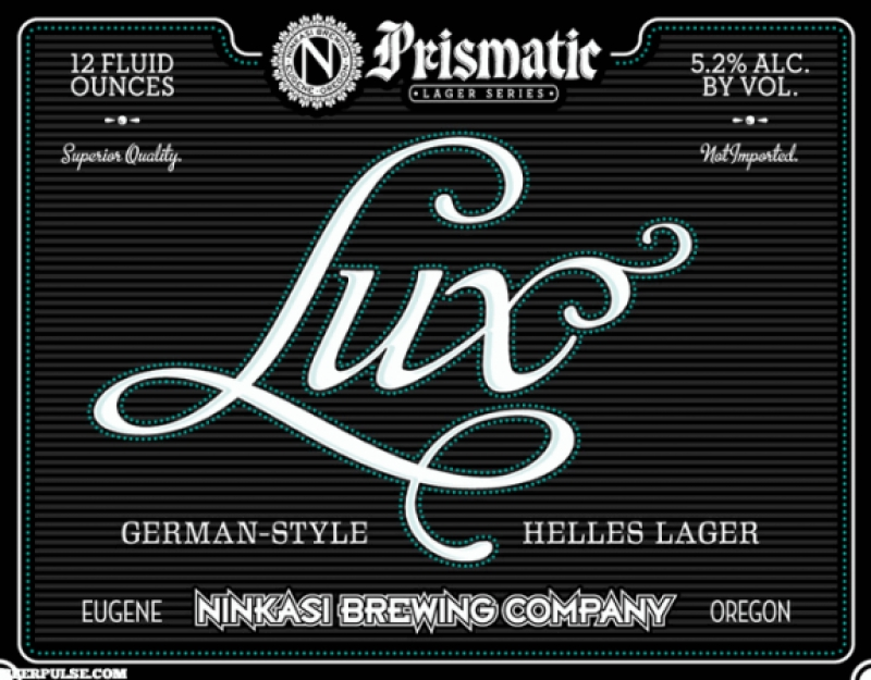 Ninkasi Lux German Helles Lager coming next month