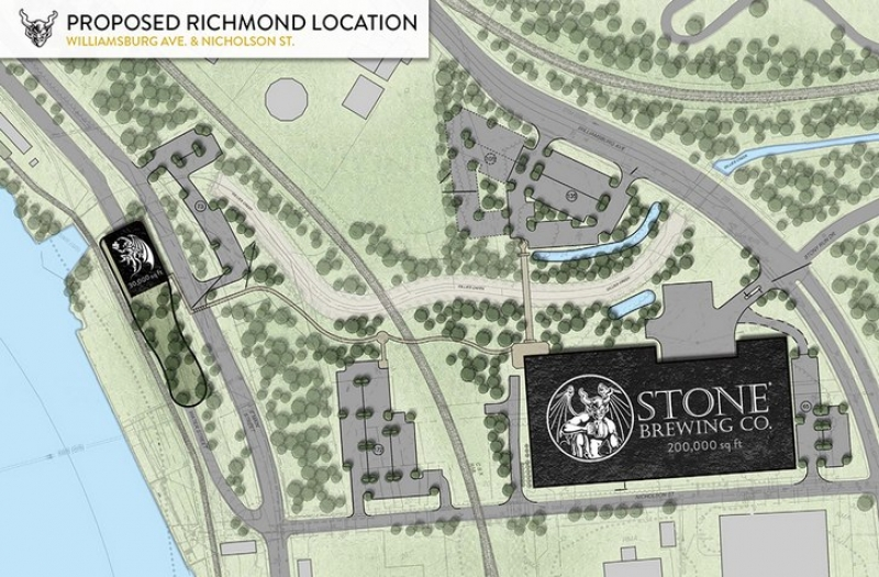 Stone Brewing names Richmond Virginia as destination for $74 million East Coast hub