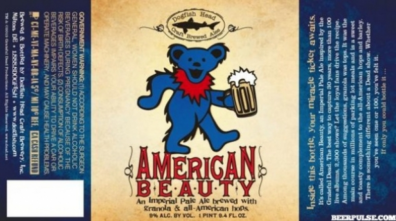 Dogfish Head's American Beauty collab with the Grateful Dead arrives this month
