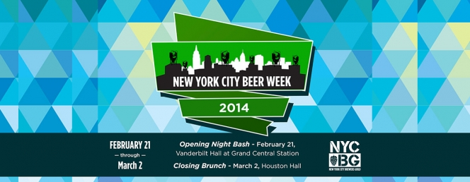 New York City Beer Week - February 21st - March 2, 2014
