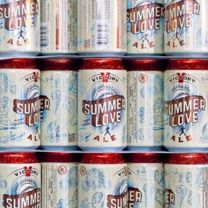Victory Brewing Summer Love Comes in Cans