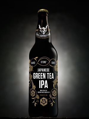 Encore! Encore!: Stone Re-Brews Popular Collaboration Baird / Ishii / Stone Japanese Green Tea IPA