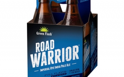 Green Flash Road Warrior Imperial Rye IPA makes package debut in May