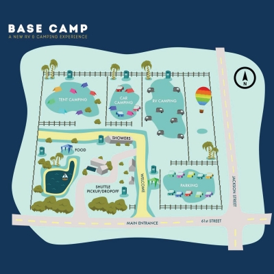 Base Camp RV & Camping Experience - Indio, CA