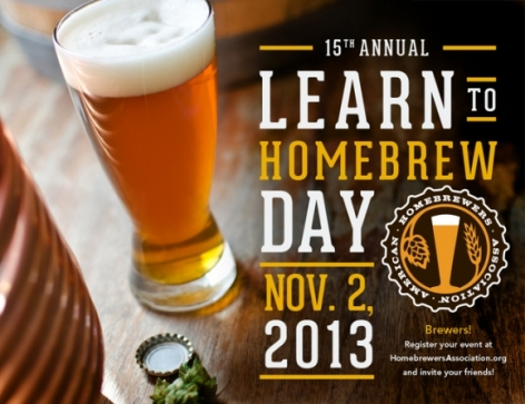 15th Annual Learn to Homebrew Day is November 2nd!