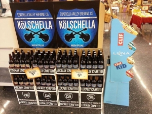 Young's Market Company and Coachella Valley Brewing Co are providing great beer to large retail chains and concert-goers