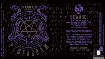 Surly Brewing Pentagram Release May 9th