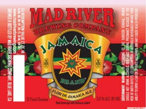 Mad River Flor de Jamaica marks brewery's 25th anniversary