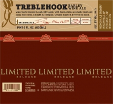 Fall/Winter 2009 Limited Release: Treblehook Barley Wine