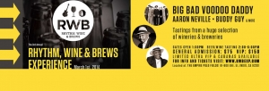 Big Bad Voodoo Daddy, Buddy Guy and Aaron Neville to Headline at Rhythm, Wine & Brews