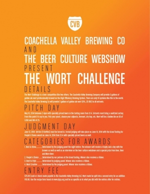 Wanna Brew? Then Participate in the First Wort Challenge